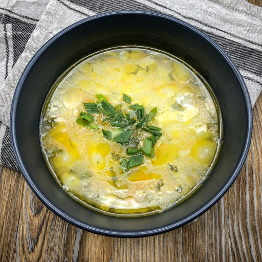 Суп с гречкой и птицей