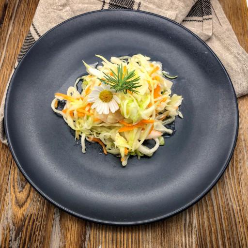 Салат из свежей капусты